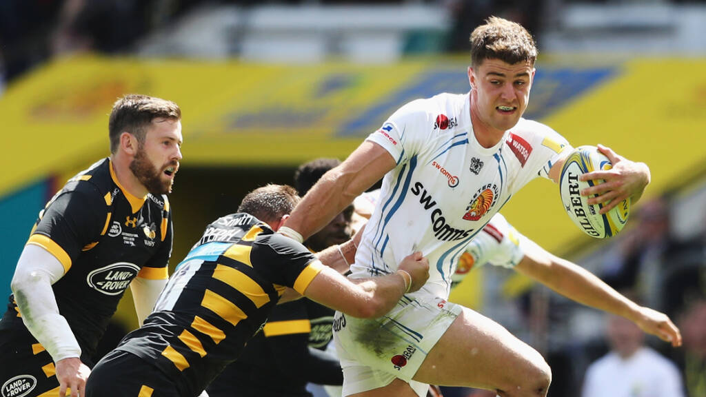 Exeter Chiefs name side to face Northampton Saints