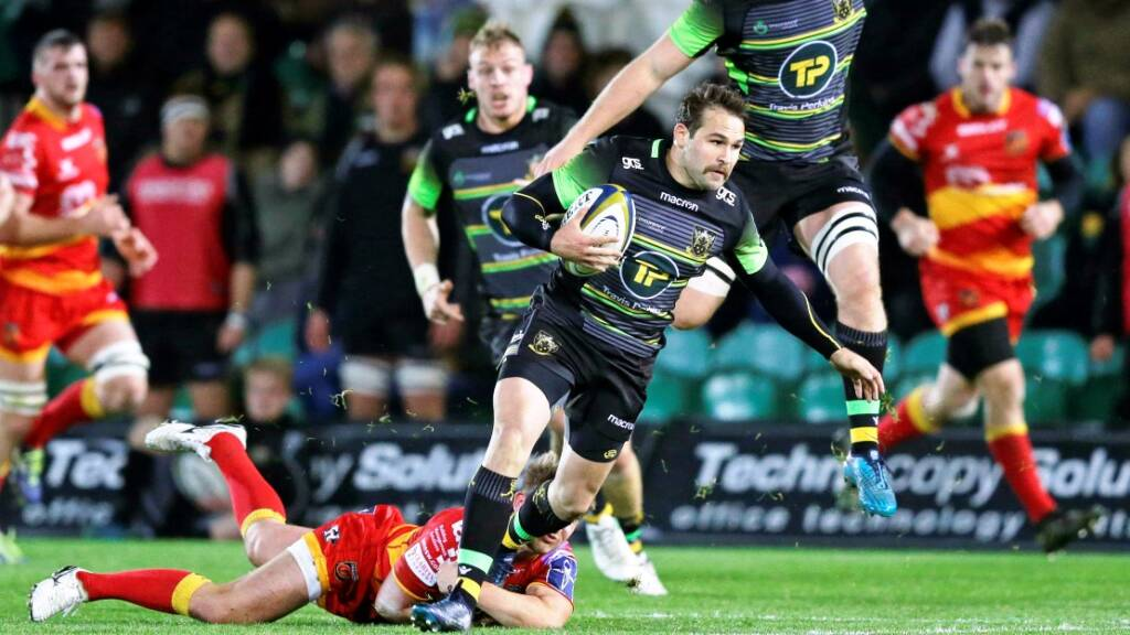 Match Report: Northampton Saints 41 Dragons 7