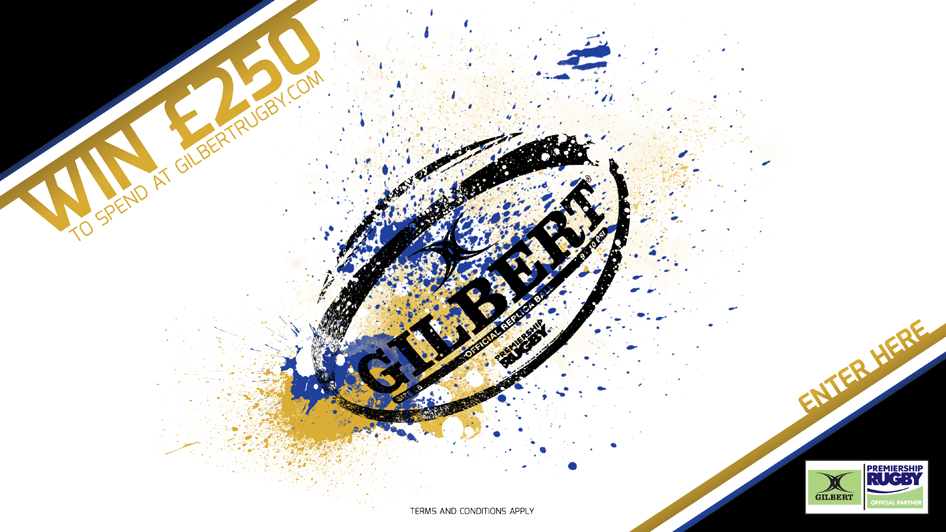 Win £250 to spend with Gilbert Rugby