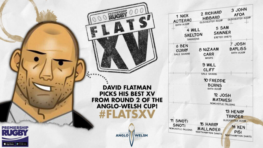 Flats selects his XV from Round Two of the Anglo-Welsh Cup