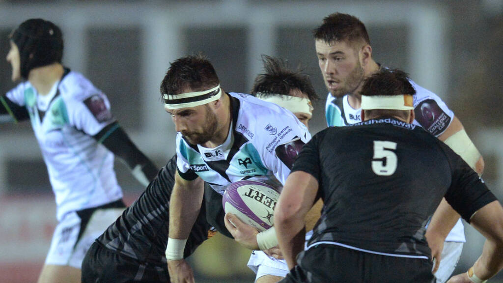 Ospreys team to play Cardiff Blues