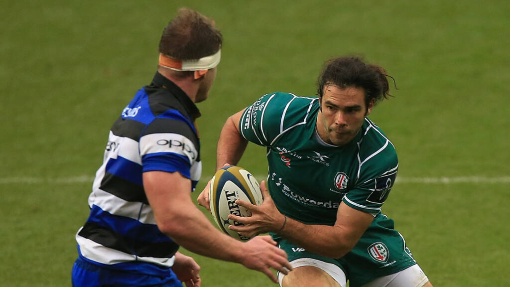 London Irish name side for Bath Rugby clash