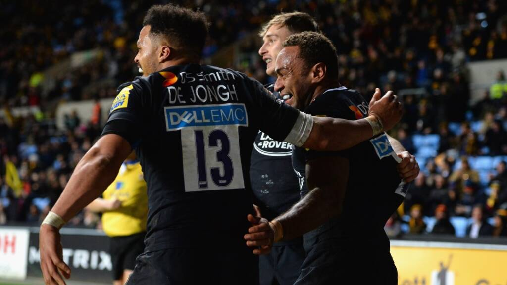 Wasps 40 Newcastle Falcons 10
