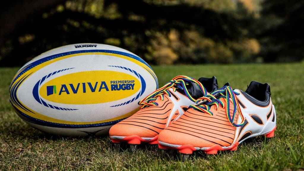 Wasps star James Haskell supporting Aviva Premiership Rugby's Rainbow Laces weekend