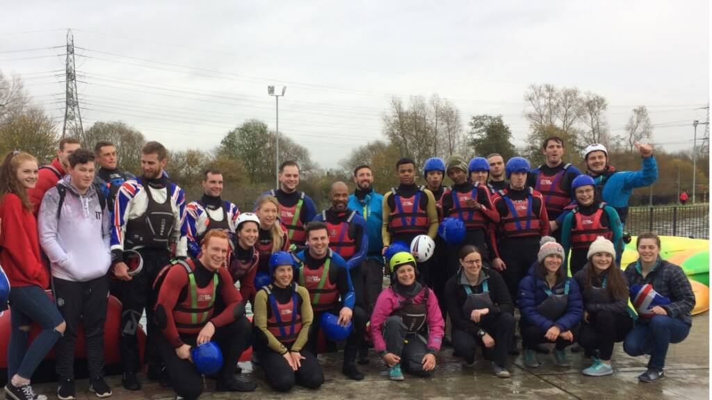 HITZ participants excel in Lee Valley rafting experience