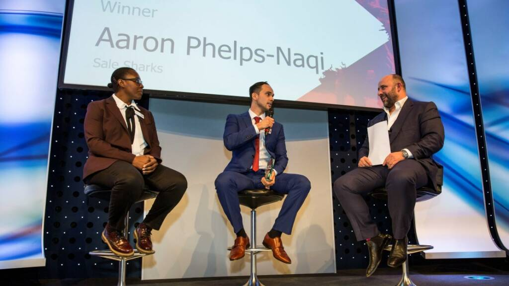 Aaron Phelps-Naqvi earns prestigious gong at HITZ Awards