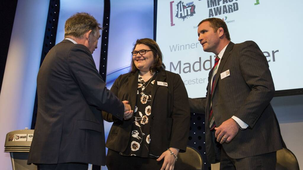Gloucester Rugby HITZ winner blown away by accolade