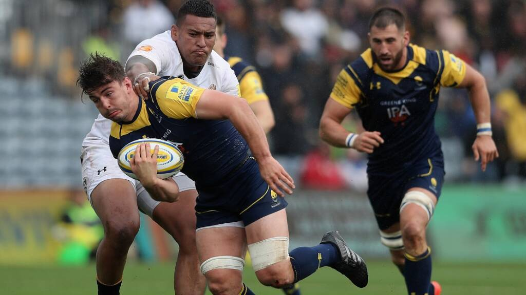 Lewis commits future to Worcester Warriors with new contract