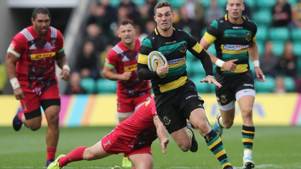 George North to leave Northampton Saints