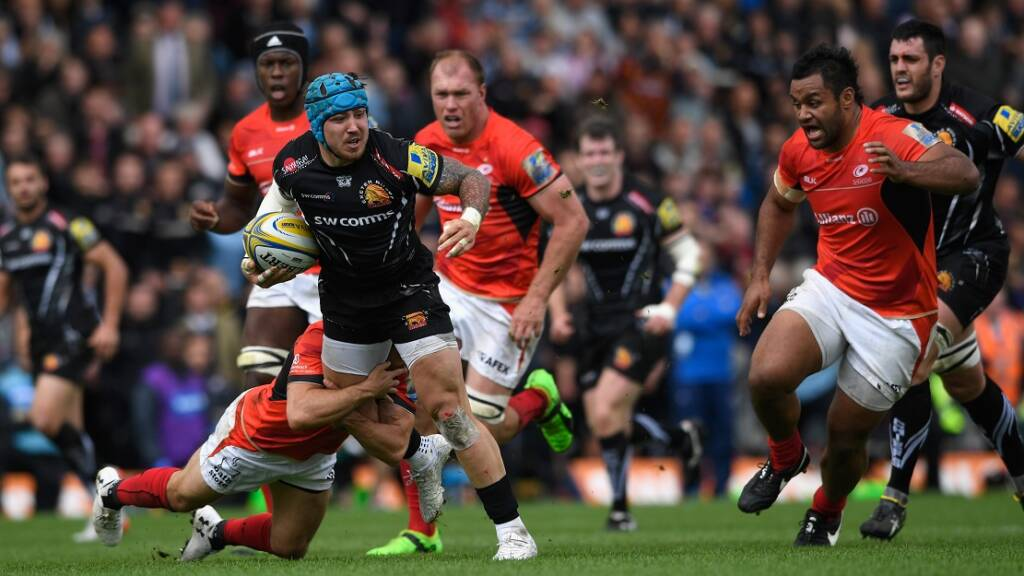 Throwback Thursday: Classic matches between Exeter Chiefs and Saracens