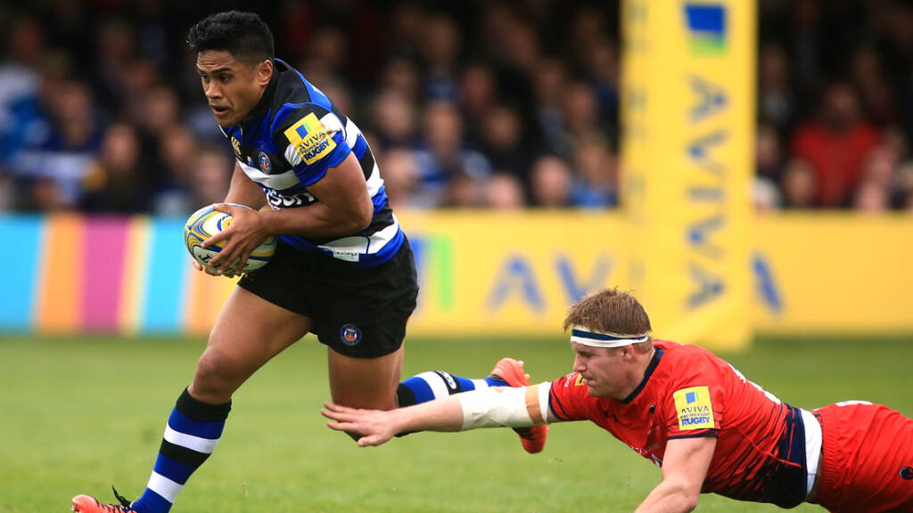 Tapuai returns to Bath Rugby starting line-up to face Harlequins