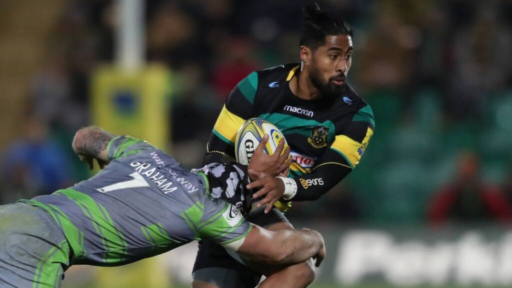 Northampton Saints re-sign Samoan ace Ahsee Tuala