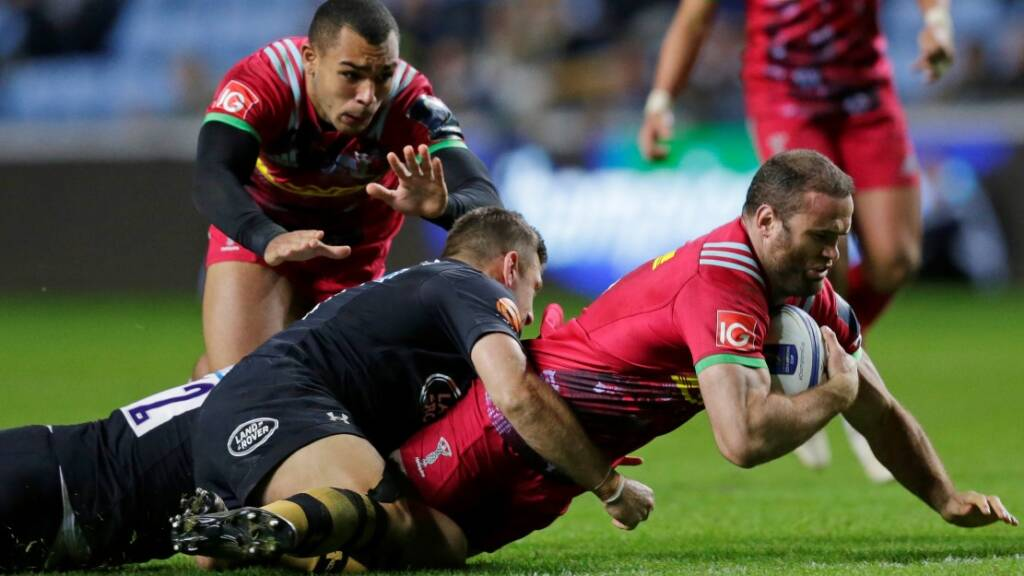 Harlequins name squad for Champions Cup tie against Ulster
