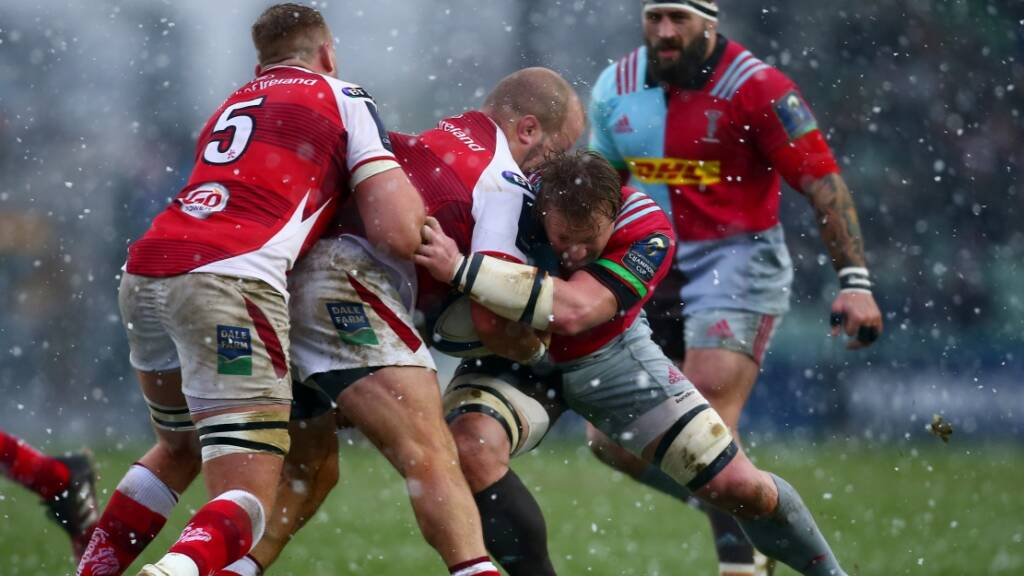 Harlequins name squad for Ulster trip