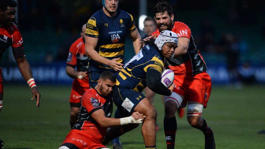 Worcester Warriors make two changes for trip to Oyonnax