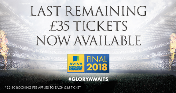 The Aviva Premiership Rugby Final 2018