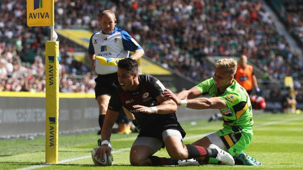 Throwback Thursday: Saracens on fire against Northampton Saints