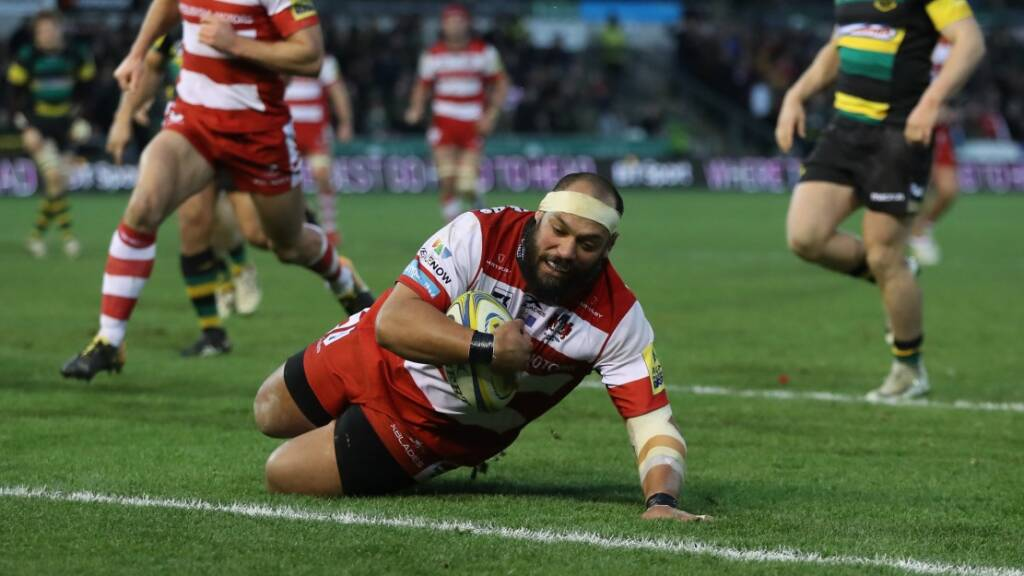 100 up for John Afoa for Gloucester's European quarter-final in Connacht