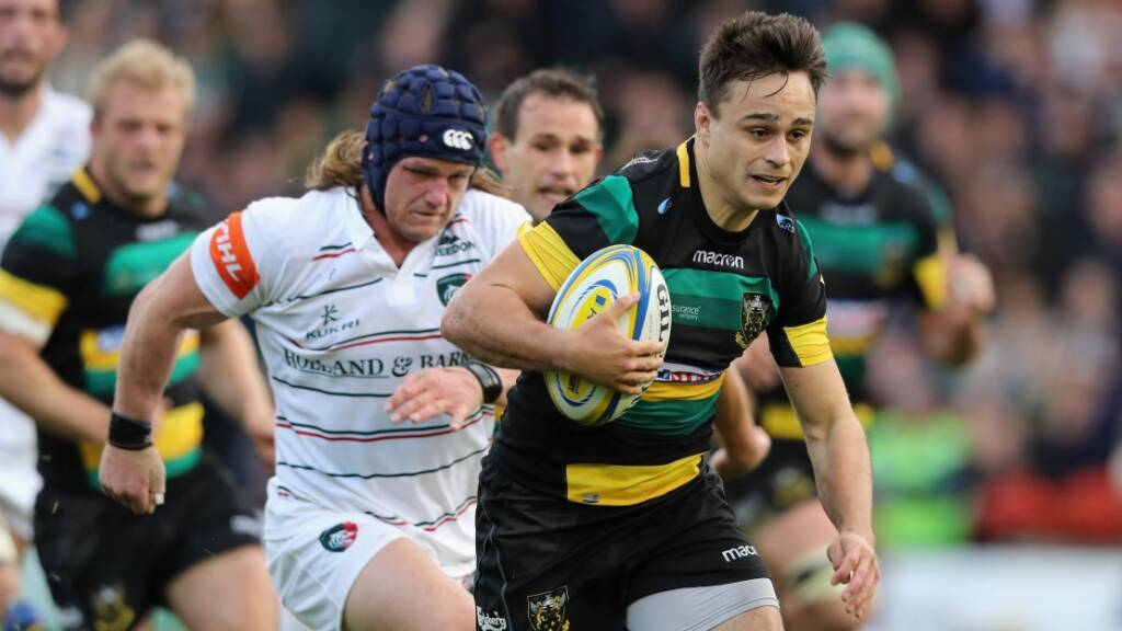 Northampton Saints duo Tom Collins and Lewis Ludlam sign new contracts