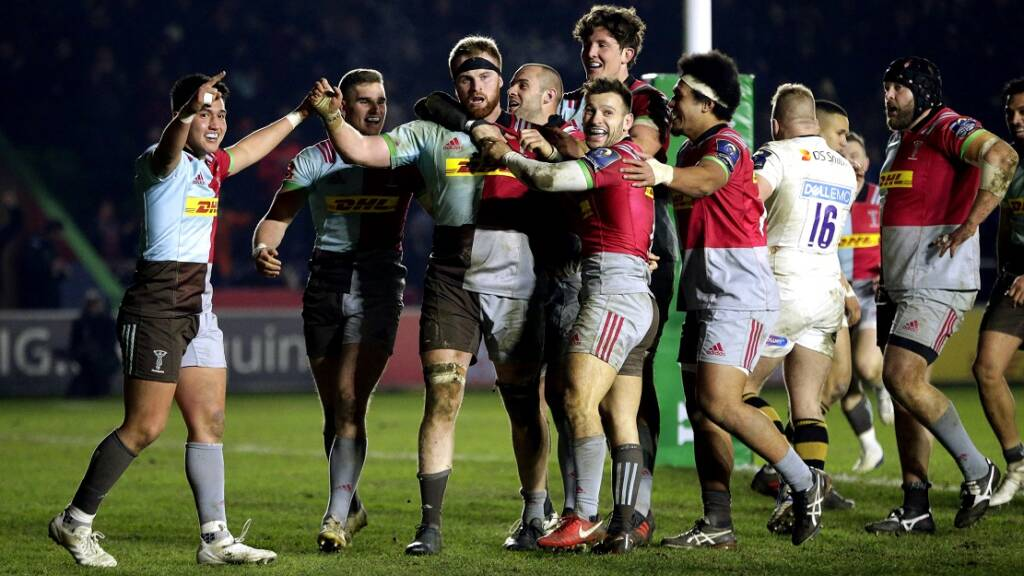 How social media reacted: Harlequins edge Wasps in European thriller