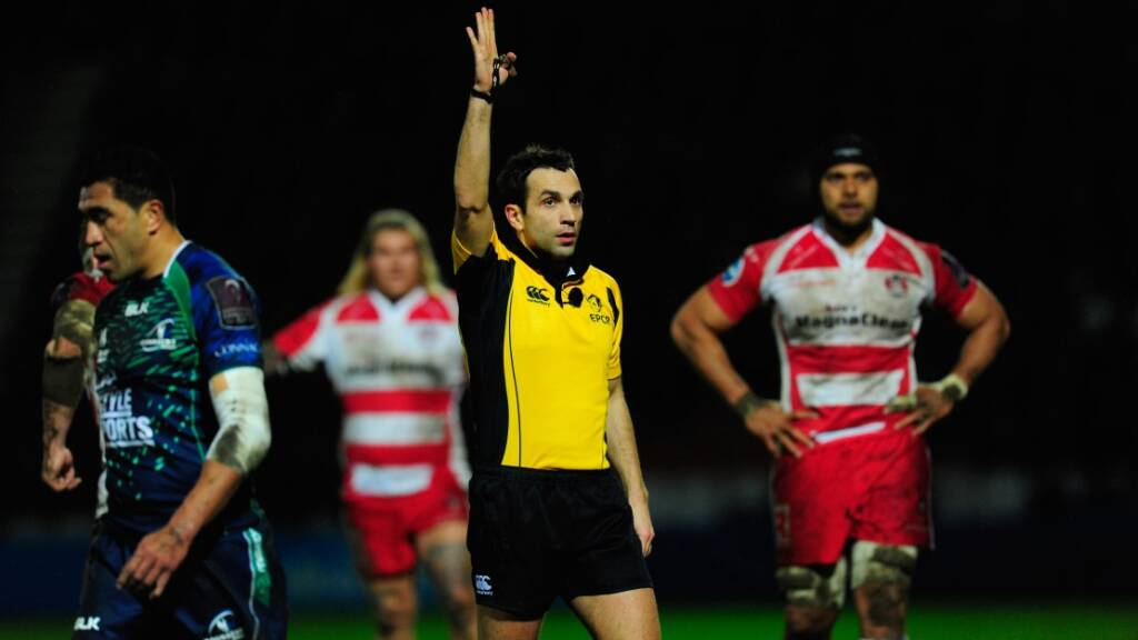 Mathieu Raynal to referee all-Aviva Premiership Rugby European clash