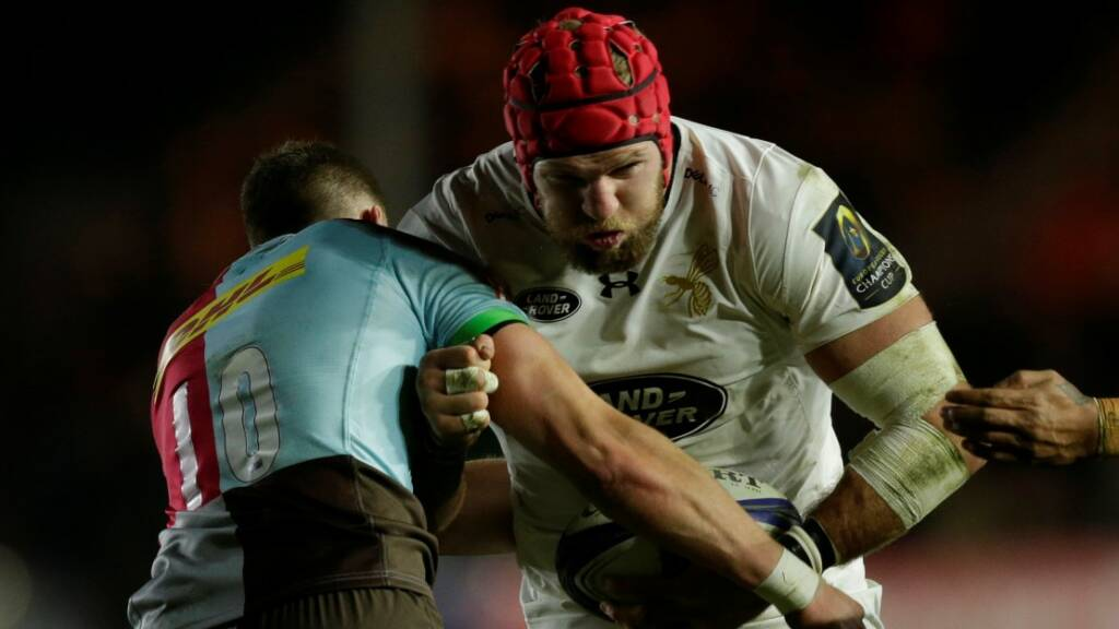 Wasps' James Haskell suspended for four weeks