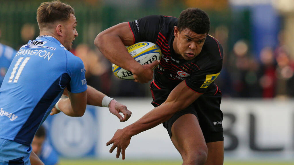 Harlequins sign Saracens and England winger Nathan Earle