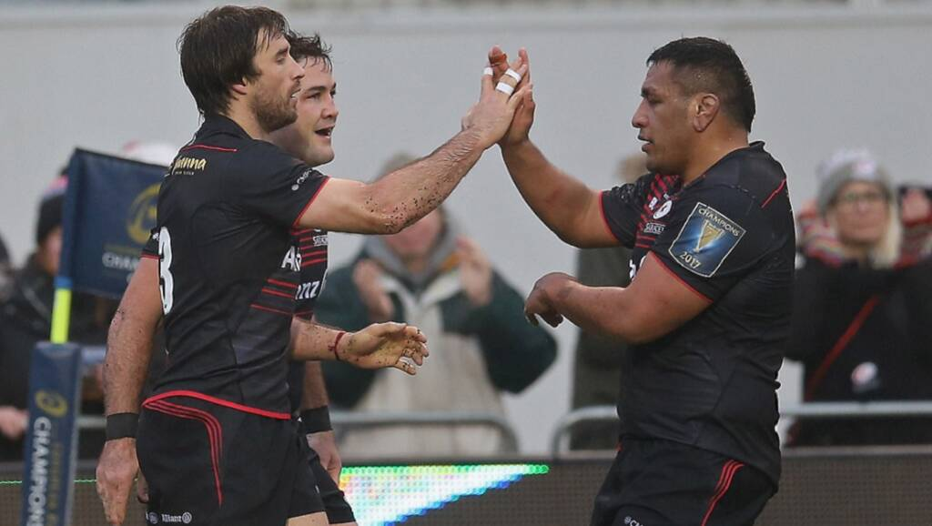 Saracens in last eight as Champions Cup draw revealed
