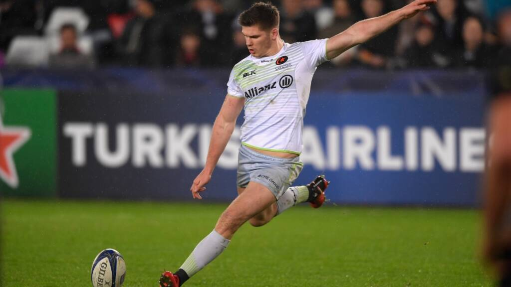 Saracens' Owen Farrell nominated for EPCR European Player of the Year award