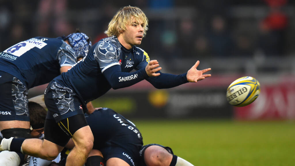 Sale Sharks team to face Northampton Saints