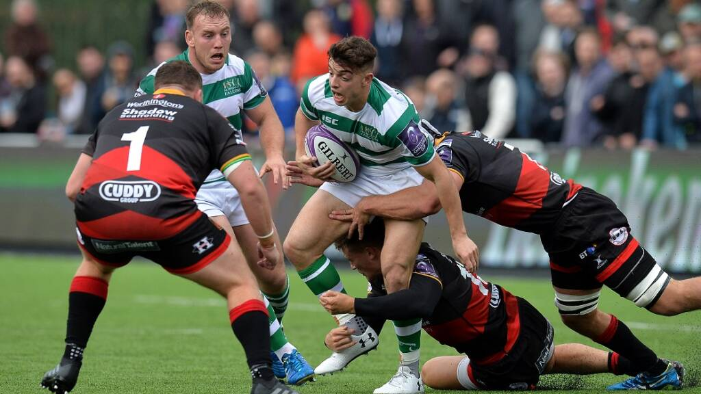 Radwan relishing Anglo-Welsh Cup experience