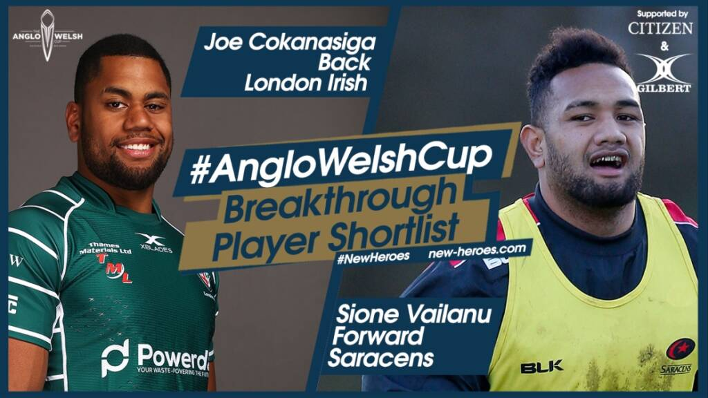 Anglo-Welsh Cup – Round 3 Breakthrough players