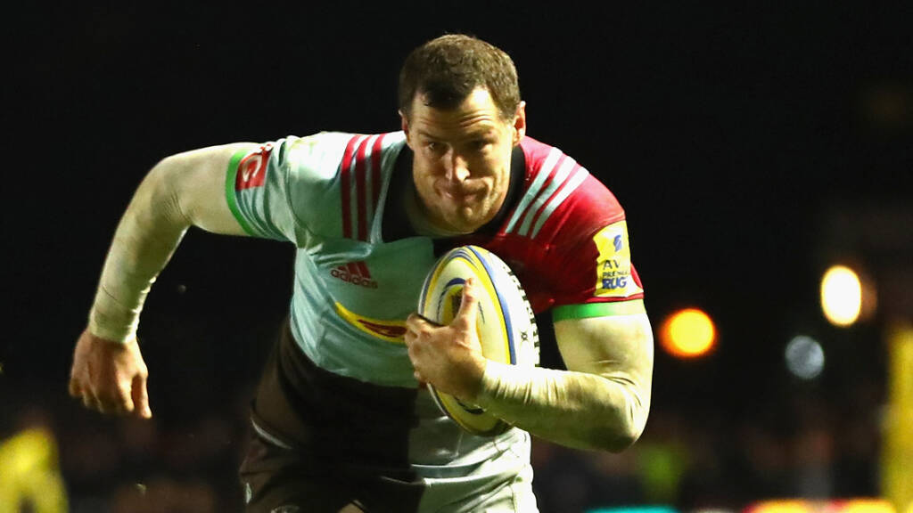 Tim Visser extends time with Harlequins