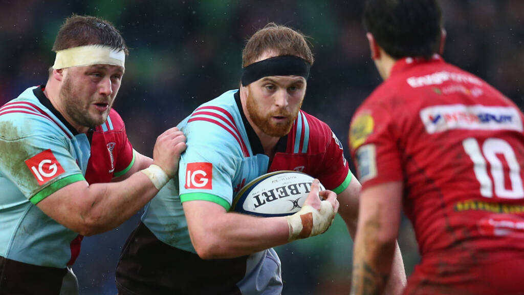 Harlequins name matchday squad to face Northampton Saints