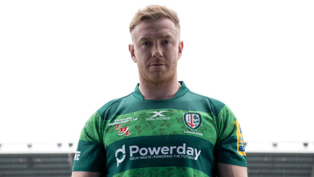 London Irish launch their 2018 St Patrick's Party jersey