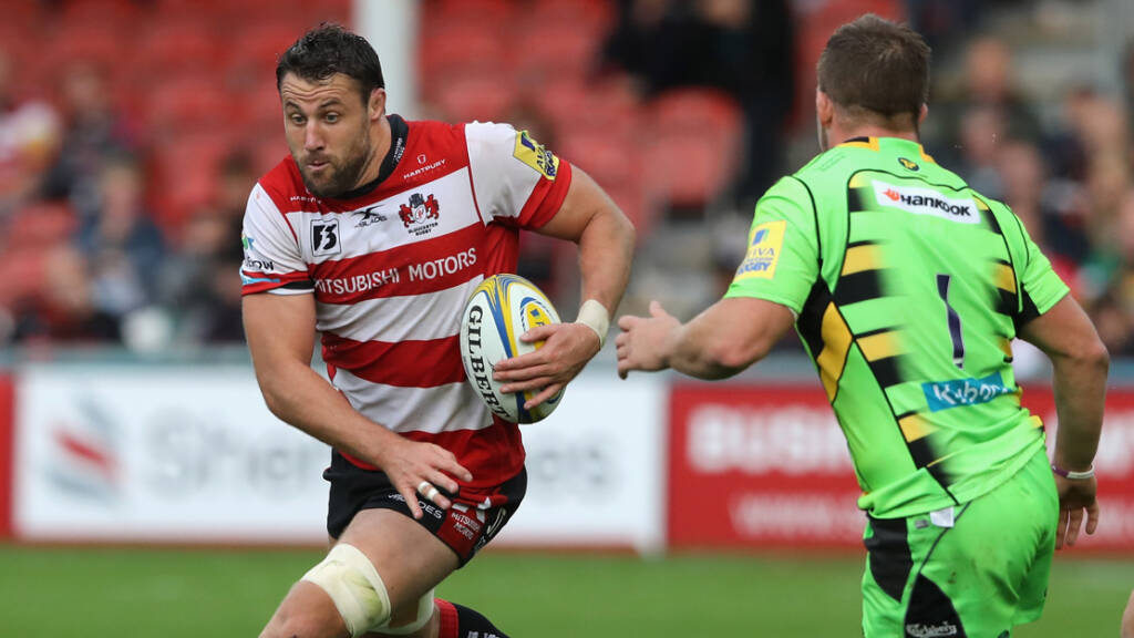 Thrush to skipper Gloucester in Anglo-Welsh Cup action at Newcastle