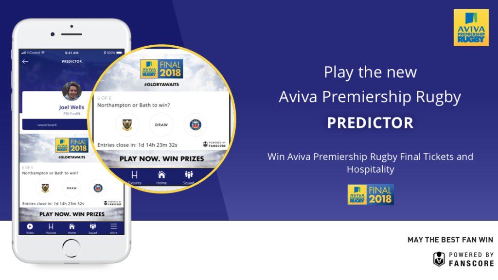 First winner of new-look Premiership Rugby Predictor revealed!