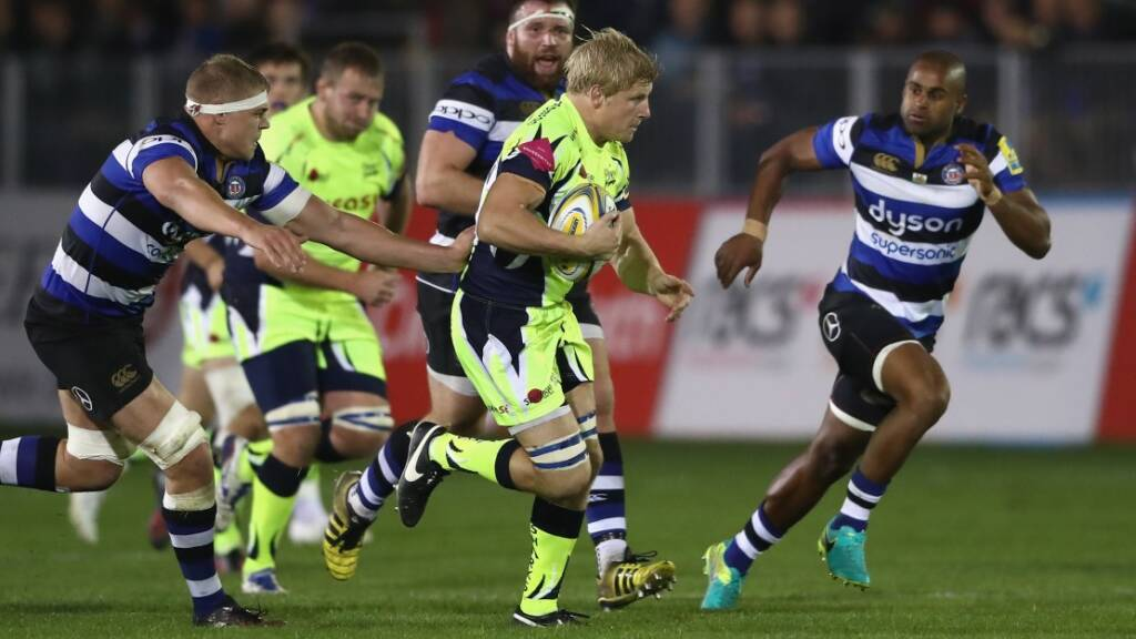 David Seymour, Sale Sharks