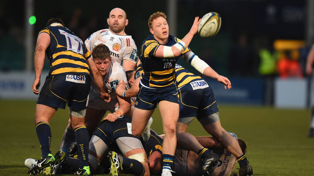 Luke Baldwin signs contract extension with Worcester Warriors