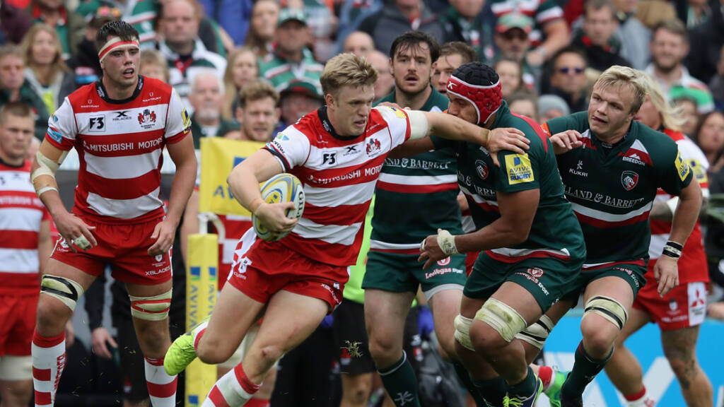 Gloucester Rugby v Leicester Tigers (Kingsholm, 2.30pm)