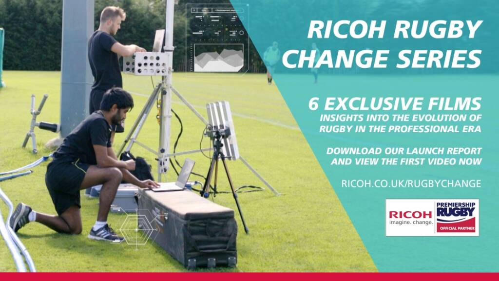 The Ricoh Rugby Change Series Wins Prestigious Industry Award