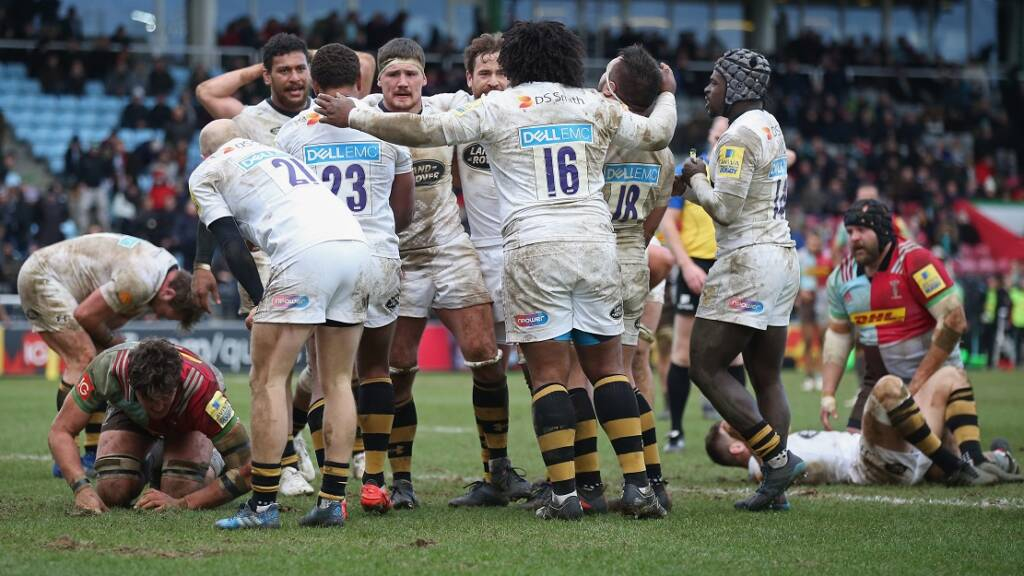 Three thrilling Aviva Premiership Rugby games live on TV screens