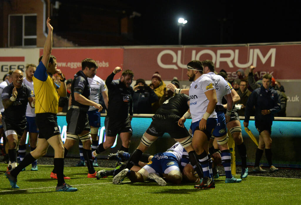 The best photographs from Newcastle Falcons v Bath Rugby - Round 15
