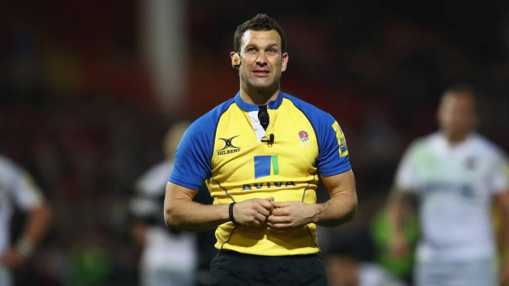 Karl Dickson to referee top-four clash between Gloucester Rugby and Wasps