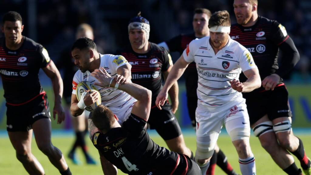 Match Report: Saracens 20 Leicester Tigers 28