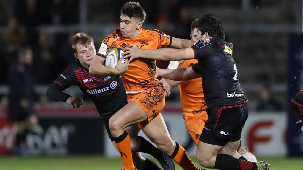Sale Sharks' Redpath going from strength to strength post Under-18s Finals