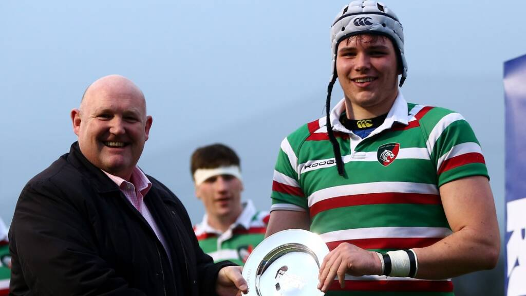 Hard work is worth it as Cameron Jordan and Leicester Tigers lift trophy at Under-18s Finals Day