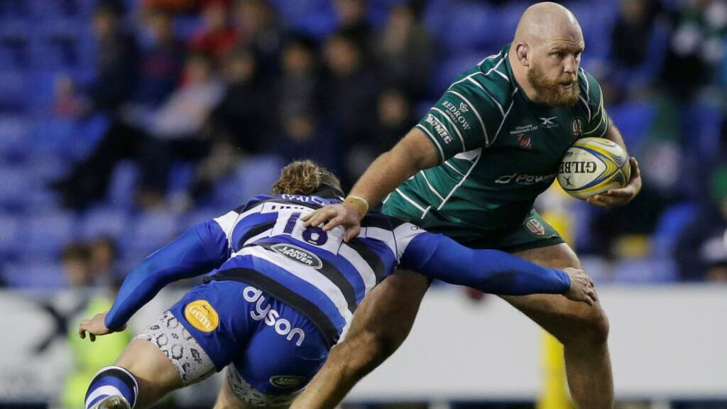 World Cup-winning prop Franks signs for Northampton Saints