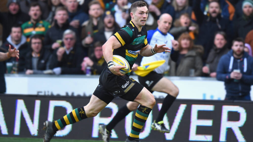 George North 'disciplined internally' for missing Northampton Saints training