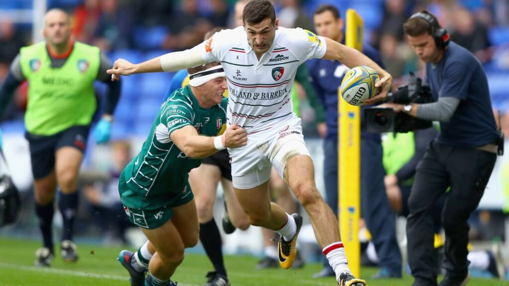 Who will be crowned Aviva Premiership Rugby's top try scorer?
